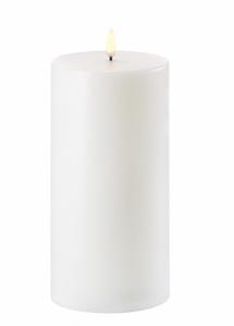 Bilde av Uyuni 10.1* 25cm hvitt LED kubbelys