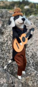 Bilde av UND Halvdan gitarhund 15cm