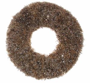 Bilde av Shishi krans 46cm pinner med glitter (56025)